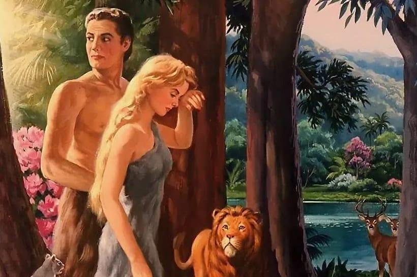 Приснился сон адам и ева